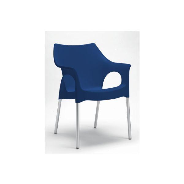Ola designstoel blauw 2119