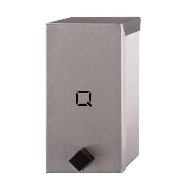 Foamzeepdispenser Qbic-line RVS-mat