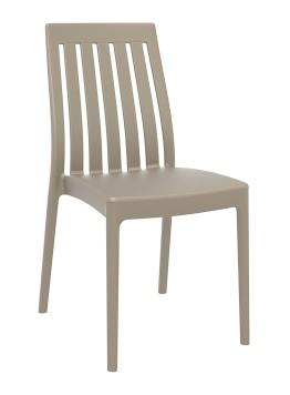 Comforabele stoel Soho gemaakt van PP en leverbaar in 6 kleuren voor binnen en buiten gebruik (1)