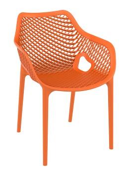Air XL terrasstoel Siesta met armlegger in 7 frisse kleuren voor binnen en buiten gebruik (1)