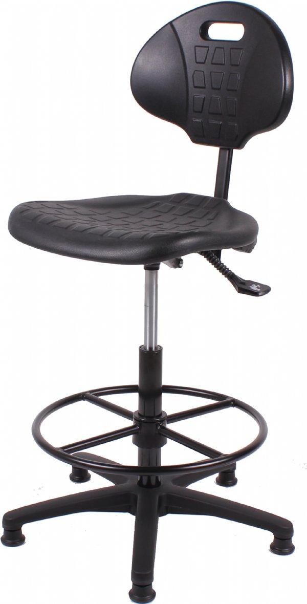 Voordelige Baliestoel of loketstoel TEZ267  met voetring | snelle levertijd en scherpe prijs (1)