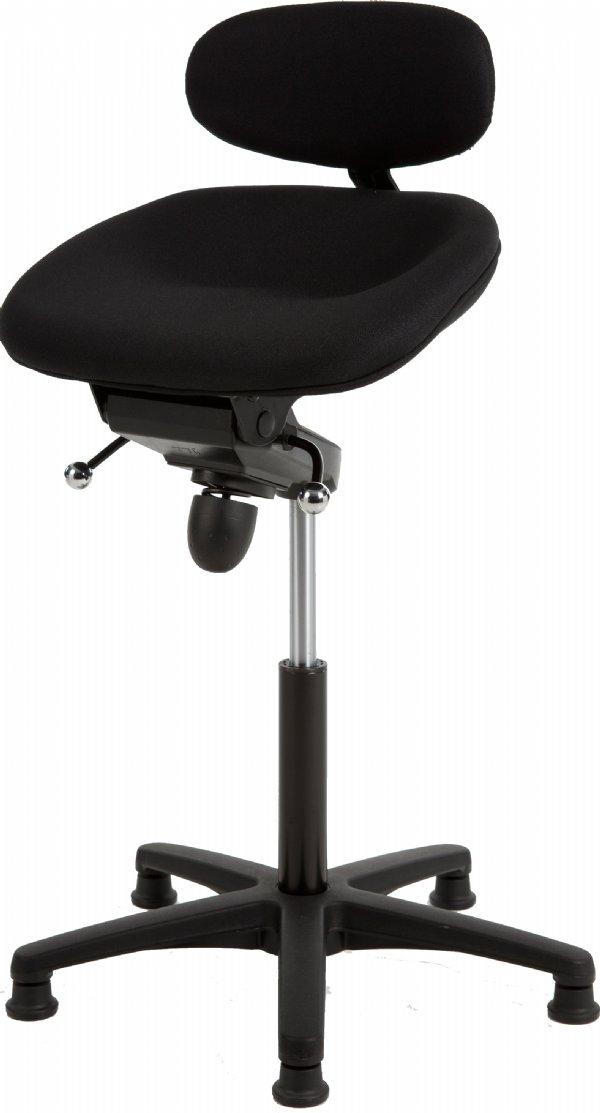 Comfortabele stahulp VDB200 gestoffeerd antraciet | top kwaliteit voor een scherpe prijs en maximale sta ondersteuning (1)