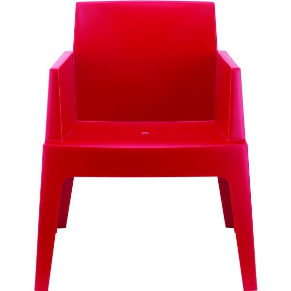 Designstoel Box rood 1