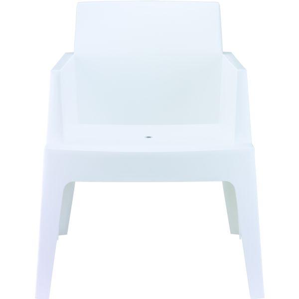 Designstoel box wit 1
