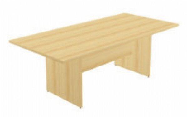 Houten vergadertafel Quadrifoglio 210x100cm | Zeer voordelige vergadertafel en goede kwaliteit (1)