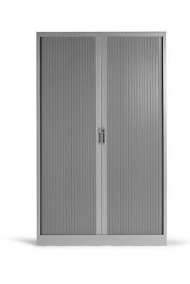 roldeurkast 198x120x45cm aluminium ral9006 1