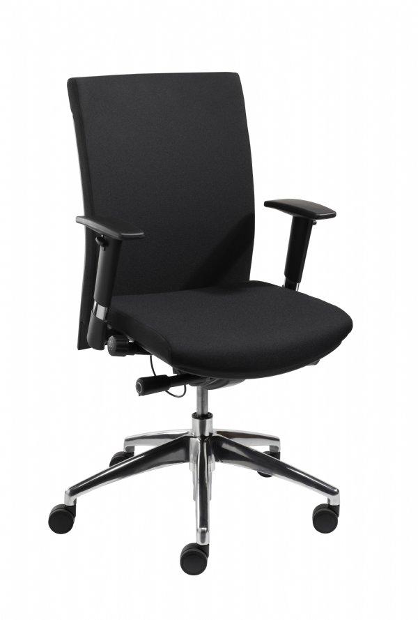 Sitlife Kantoorstoel Salina in zwart met EN 1335 normering en uit voorraad leverbaar (1)